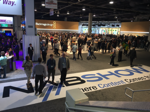 Opening morning of NAB 2017.